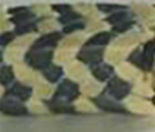 芳纶交织黑四氟盘根