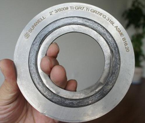 特殊材质金属缠绕垫片