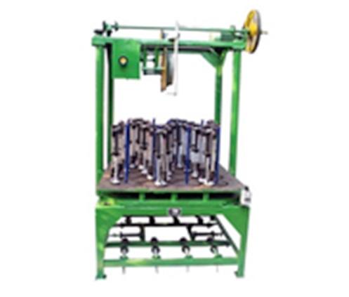 三轨18锭方形盘根编织机