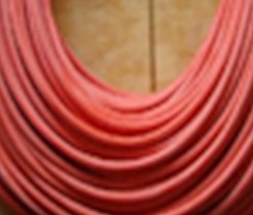 红色硅橡胶绳